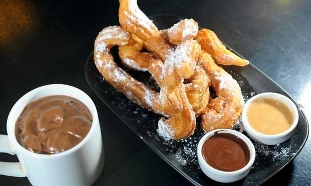 churro ve çikolata ispanya