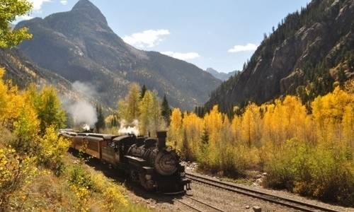 durango and silverton narrow gauge demir yolu