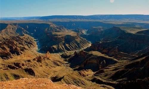 balık gölü kanyonu nambiya
