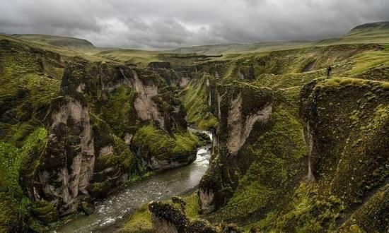 fjaorargljufur kanyon izlanda