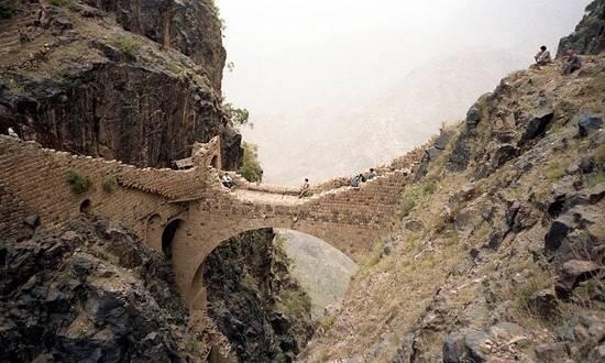 shahara köprüsü yemen