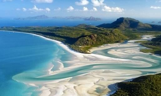 whitehaven plajı avusturalya