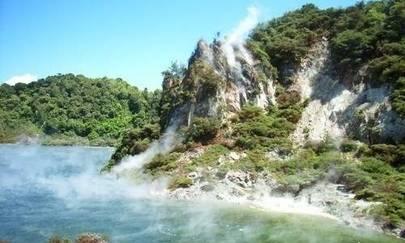 kızartma tavası gölü yeni zelanda