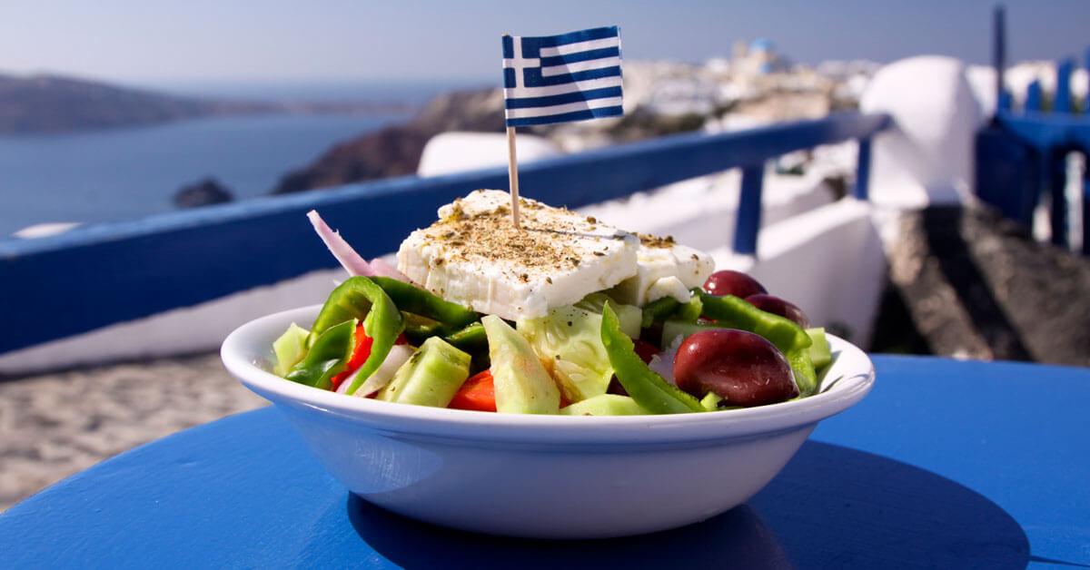 Greek Salatası