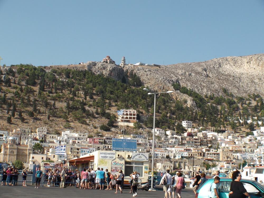 Kalimnos'ta Alışveriş