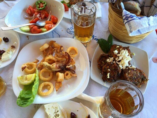 Kalimnos Adası Yemek Kültürü