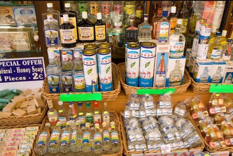 Midilli Adası Alışveriş