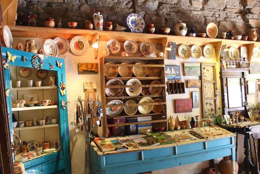 Samos'ta Alışveriş