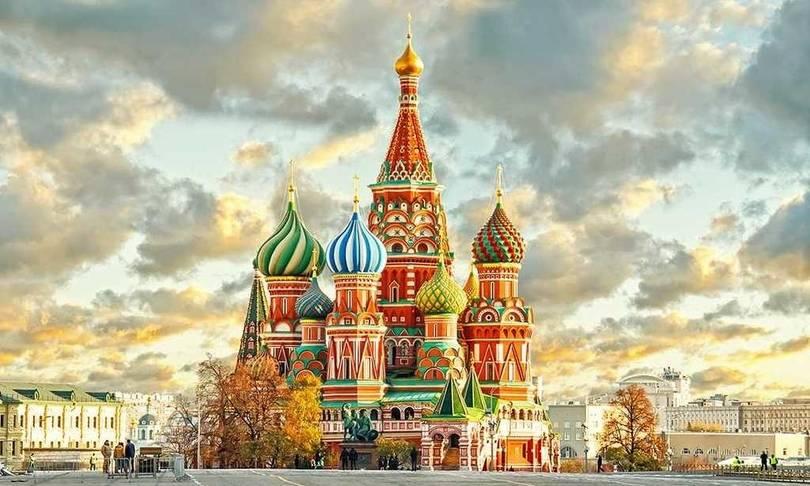 aziz vasil katedrali moskova rusya