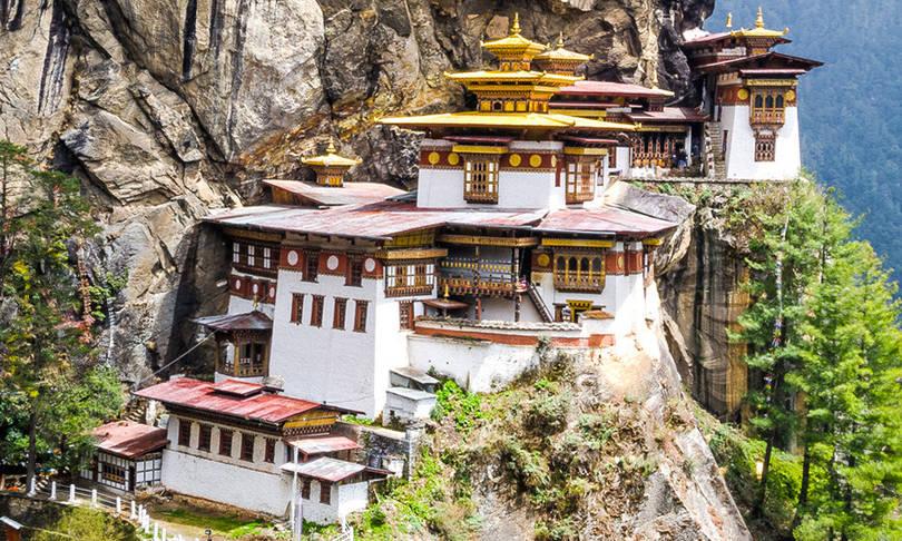 paro taktsang manastırı paro bhutan
